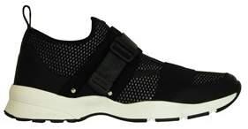 Christian Dior Men's Black Fabric Sneakers.