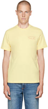 Martine Rose Yellow Classic Logo T-Shirt