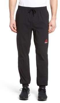 Reebok Men's Stretch Woven Jogger Pants