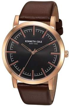 Kenneth Cole Slim Leather Mens Watch 10030809