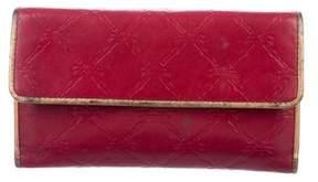 Longchamp Logo Leather Wallet