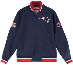 Mitchell & Ness Men's New England Patriots Team History Warm Up Jacket