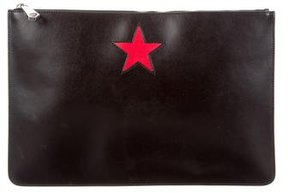 Givenchy Star Zip Pouch