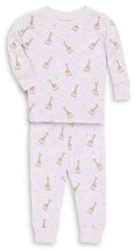 Kissy Kissy Baby's Sophie La Girafe Printed Cotton Pajama Set