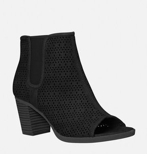 Avenue Uptown Perforated Peep Toe Bootie