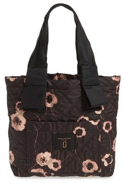 Marc Jacobs Small Violet Vines Knot Tote - Black - BLACK - STYLE
