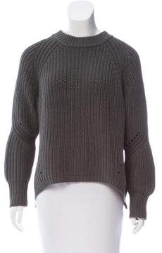 360 Sweater Crew Neck High-Low Sweater