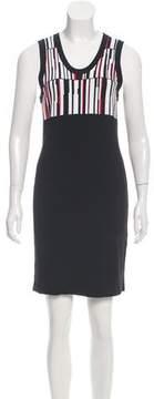 Edun Sleeveless Abstract Print Dress
