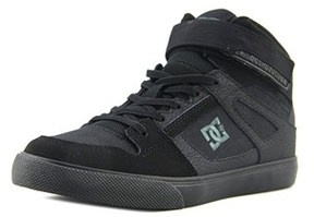 DC Spartan High Ev Youth Us 4 Black Skate Shoe.