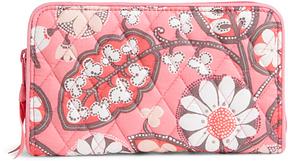 Vera Bradley Blush Pink Accordion Wallet - BLUSH - STYLE