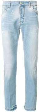 Entre Amis distressed slim-fit jeans