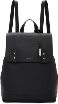Saint Laurent Black Sac de Jour Backpack