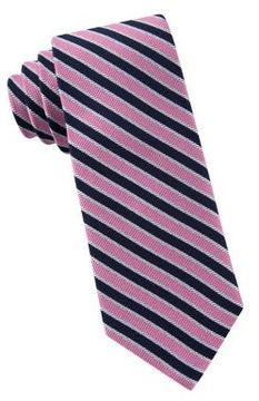 Lord & Taylor Boys Preppy Stripe Silk Tie