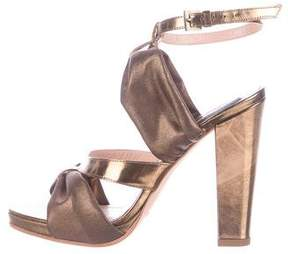 Derek Lam Metallic Leather Sandals w/ Tags