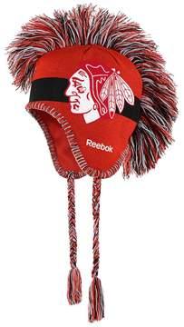 Reebok Youth Chicago Blackhawks Mohawk Knit Cap