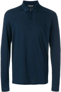 Emporio Armani long sleeve polo shirt