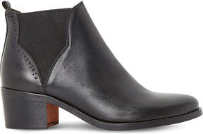 Dune Parnell leather Chelsea ankle boots