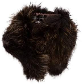 Adrienne Landau Fur Collar w/ Tags