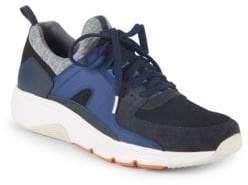 Camper Mesh-Paneled Low-Top Sneakers