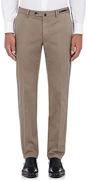 Pt01 Men's Stretch-Cotton Slim Trousers
