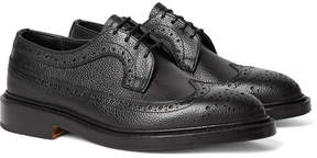 Tricker's Richard Pebble-Grain Leather Longwing Brogues