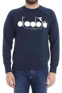 Diadora Men's Blue Cotton Sweatshirt.