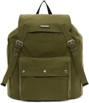 Saint Laurent Khaki Noe Backpack