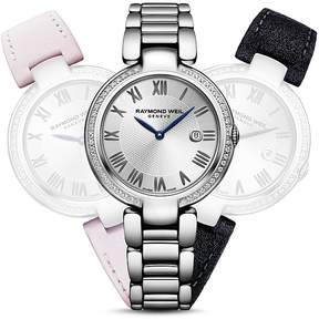 Raymond Weil Shine Etoile Diamond Watch with Interchangeable Straps, 42.5mm