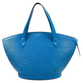 Louis Vuitton St Jacques leather tote - BLUE - STYLE