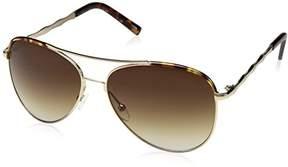 Gold Tortoise Lucky Ssetgot60 Aviator Sunglasses
