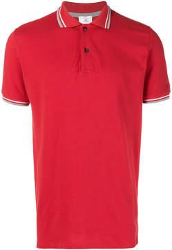 Peuterey stripe detail polo shirt