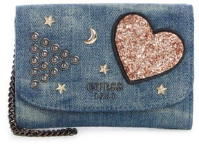 GUESS In Love Double Date Small Wallet