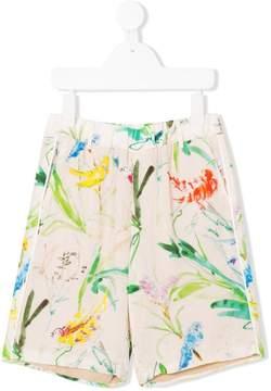No.21 Kids printed shorts