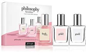 philosophy Fresh Grace 3 Piece Eau De Toilette Coffret