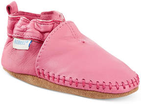 Robeez Baby Girls' Classic Moccasin Shoes