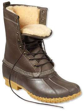 L.L. Bean Men's Boots, 10 Shearling-Lined