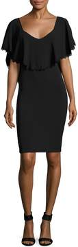 Dress the Population Women's Delilah Solid Dress