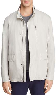 Cole Haan J540 Mock Neck Rain Jacket
