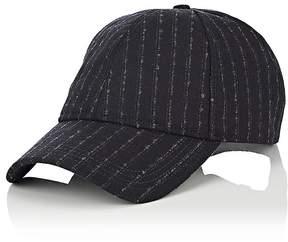 Barneys New York New Era XO Men's Striped Wool-Blend Baseball Cap