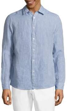Michael Kors Regular Linen Shirt