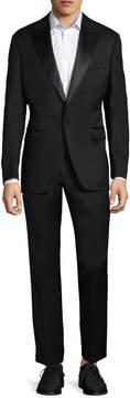Saks Fifth Avenue Men's Peak Solid Tuxedo