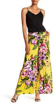 ECI Floral Print Obsessed Wide Leg Pants