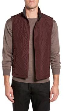 Pal Zileri Men's Quilted Field Vest