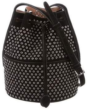 Alaia Grommet Bucket Bag
