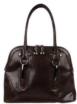 Stuart Weitzman Suede Handle Bag
