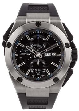 IWC Ingenieur Double Chronograph Titanium & Rubber 46mm Watch