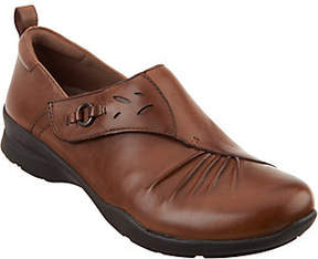 Earth Leather Slip-on Shoes - Amity