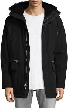 Karl Lagerfeld Men's Anorak Hooded Parka
