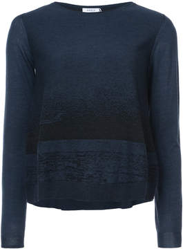 Akris Punto two tone sweater
