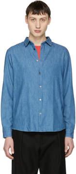 A.P.C. Indigo Washed Denim Classic Shirt